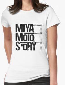 Miyamoto Story Womens Fitted T-Shirt