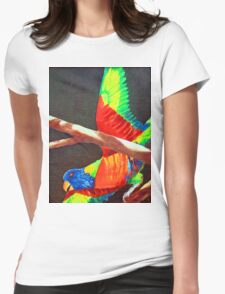 LORRIE Womens Fitted T-Shirt