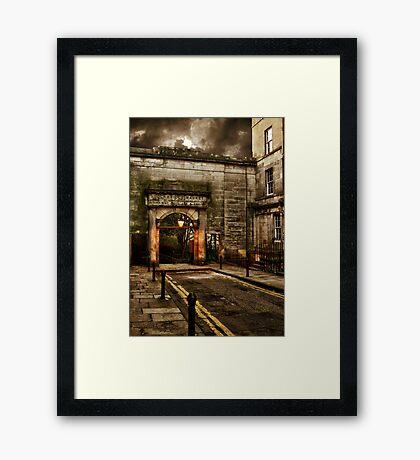Stockbridge Market Framed Print