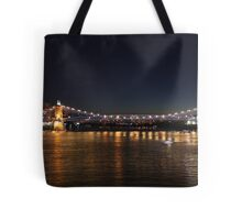 Brent Spence Bridge at Night Tote Bag