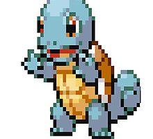 Pixel Squirtle by N1N10D0PE