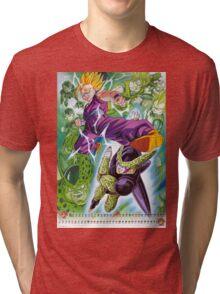 Gohan vs Cell Tri-blend T-Shirt