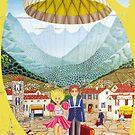 les parachutés - drosera weisse by fuxart