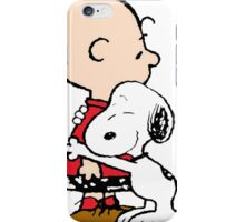 Snoopy and Charlie Hug iPhone Case/Skin