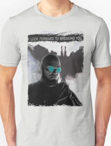 Batman Arkham City: Hugo Strange (Blue Glasses) Unisex T-Shirt