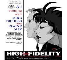 AN EVENING WITH MIKE NICHOLS AND ELAINE MAY  Photographic Print