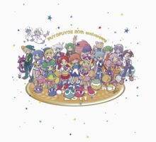 Puyo Puyo 20th Anniversary Shirt by Kapot121