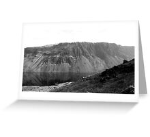 The Screes, Wast Water. Lake District National Park. Greeting Card