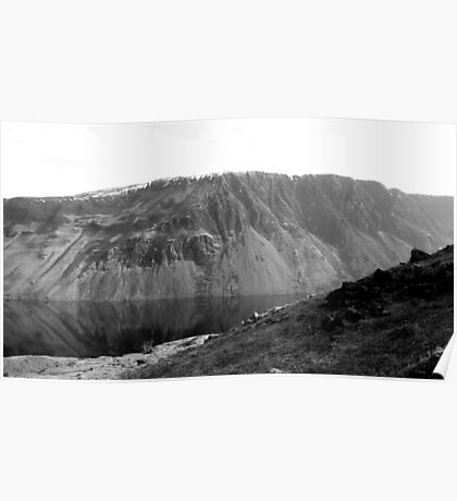The Screes, Wast Water. Lake District National Park. Poster