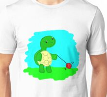 Yoyo Turtle at the Park Unisex T-Shirt