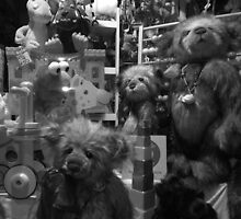 The Toy Shop Window by Lou Wilson