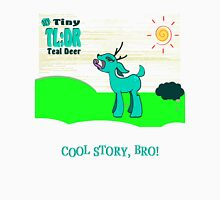 My Tiny Teal Deer / My Little Tiny Teal Deer Womens Fitted T-Shirt