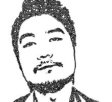 Dumbfoundead Bubble Portrait by RaffttaM