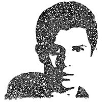George Watsky Bubble Portrait Photographic Print