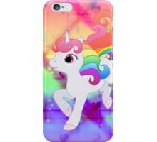 Cute Baby Rainbow Unicorn iPhone Case/Skin