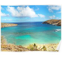 Hanauma Bay Hawaii Poster