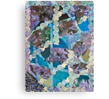Abstract Origami Puzzle Canvas Print