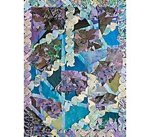 Abstract Origami Puzzle Photographic Print