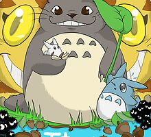 Totoro by Valkinerie