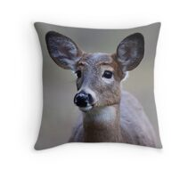 So forlorn - White-tailed Deer Throw Pillow