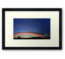 ©HCS Dream Line Framed Print