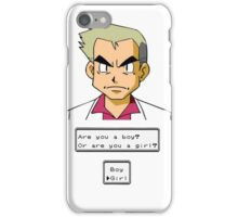 Pokemon - Professor Oak iPhone Case/Skin