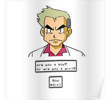 Pokemon - Professor Oak Poster