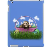 Easter Ferret iPad Case/Skin