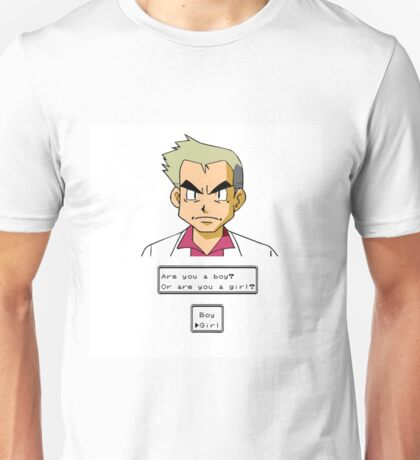 Pokemon - Professor Oak Unisex T-Shirt