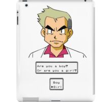Pokemon - Professor Oak iPad Case/Skin
