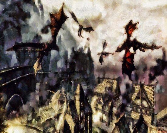 There Be Dragons by Joe Misrasi
