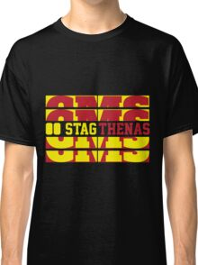 Stagthenas Zip Up Classic T-Shirt