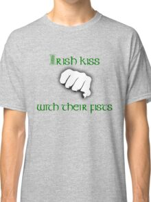Irish Kiss (for black or white shirts) Classic T-Shirt