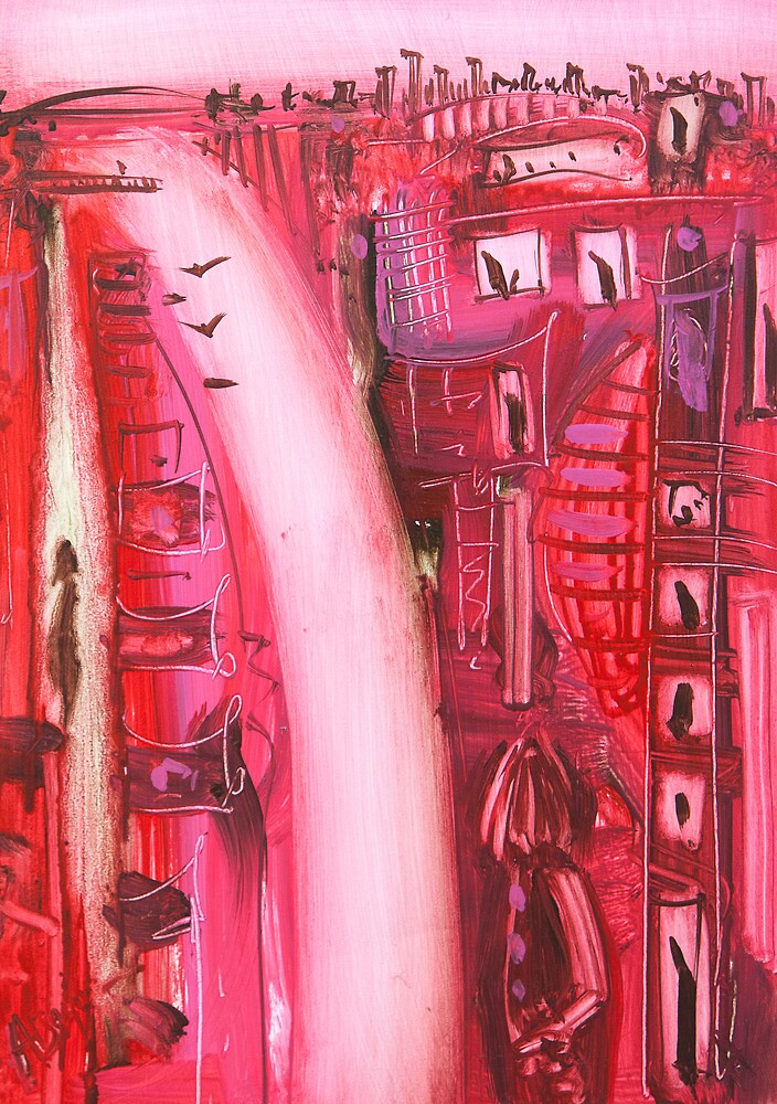 The flow between us by Adam Bogusz