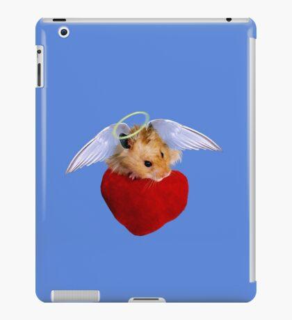 Angel Hamster with Heart iPad Case/Skin