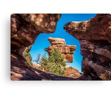 'Balanced Rock' - Back and Center Canvas Print