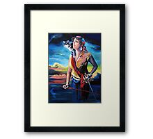 Nautical but Nice Framed Print
