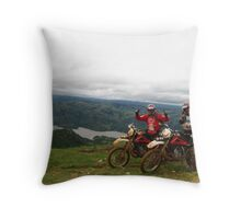Out-ride in Swaziland. Throw Pillow