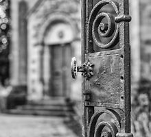 Open Gate by Jean M. Laffitau