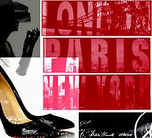 London Paris New York by Arts4U