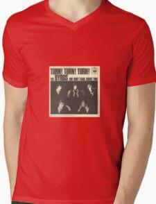 Turn, Turn, Turn Mens V-Neck T-Shirt