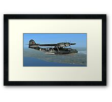 Norwegian Consolidated PBY Catalina Mk.I Framed Print