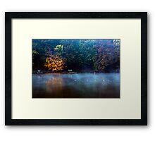 Norwegian lake Framed Print