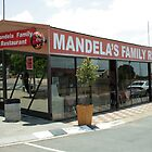 Mandela's Family Restaurant in Soweto. by Mark Braham