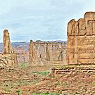 Southwest U.S. Canyon by Walter Colvin