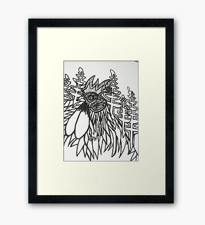 Norfolk Rooster Framed Print