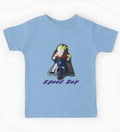 """Speed Boy"" Kids Tee"