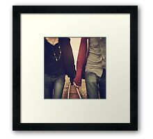 When we're together nothing else matters Framed Print