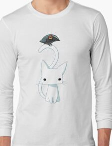 Cat and Raven Long Sleeve T-Shirt