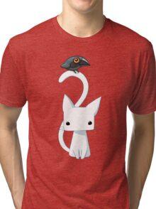 Cat and Raven Tri-blend T-Shirt
